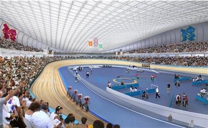 London Velodrome Opens